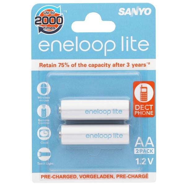 Acumulatori AA Eneloop Lite R6 1000 mAh NIMH HR-3UQ