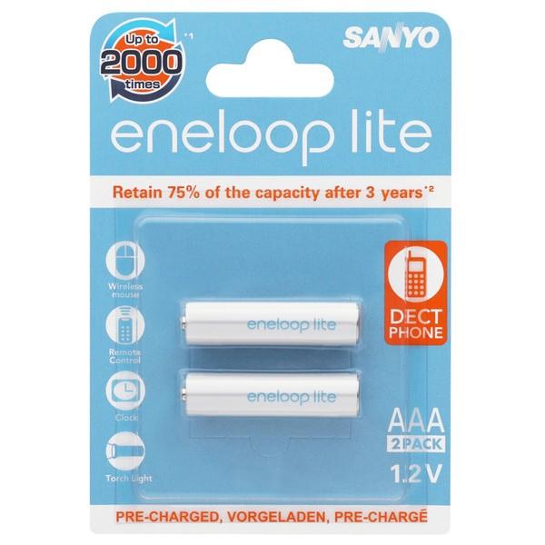 Acumulatori AAA Eneloop Lite R3 600 mAh NiMH HR-4UQ