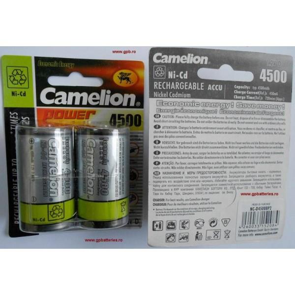 Acumulatori R20 Camelion 4500 mAh NiCd