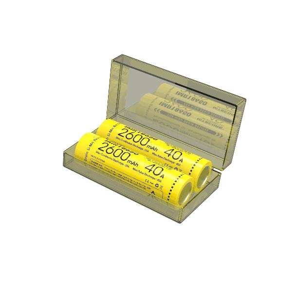 Acumulator Nitecore IMR18650 Li-Ion 2600 mAh 40A cu PCB