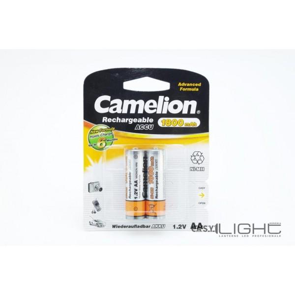Acumulatori AA Camelion R6 1800 mAh NiMH NH-AA1800BP2