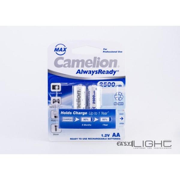 Acumulatori AA Camelion R6 2500 mAh NiMH NH-AA2500ARBP2