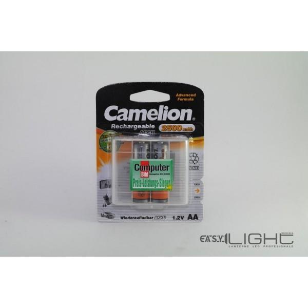 Acumulatori AA Camelion R6 2500 mAh NiMH NH-AA2500BP2