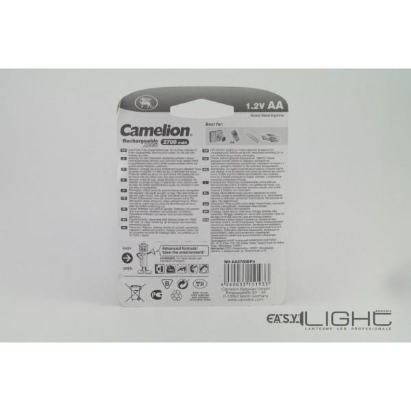 Acumulatori AA Camelion R6 2700 mAh NiMH HH-AA2700BP4