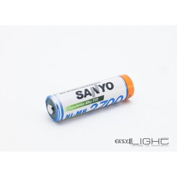 Acumulatori AA Sanyo R6 2700 mAh NiMH