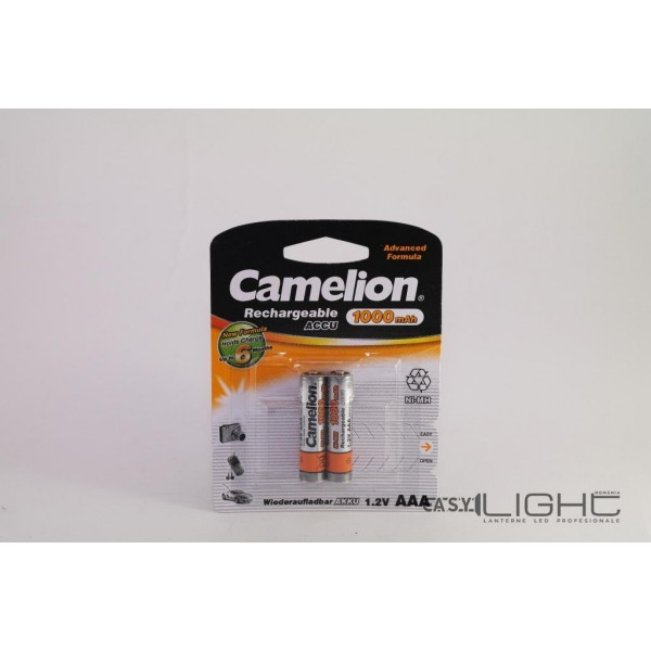 Acumulatori AAA Camelion R3 1000 mAh NiMH NH-AAA1000BP2