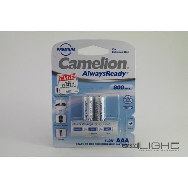 Acumulatori AAA Camelion R3 800 mAh NiMH NH-AAA600ARBP2