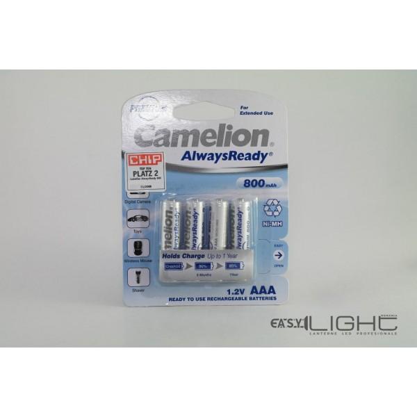 Acumulatori AAA Camelion R3 800 mAh NiMH NH-AAA800RBP2