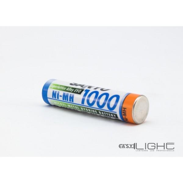Acumulatori AAA Sanyo R3 1000 mAh NiMH