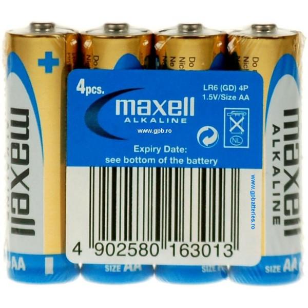 Baterii AA Alcaline LR6 Maxell