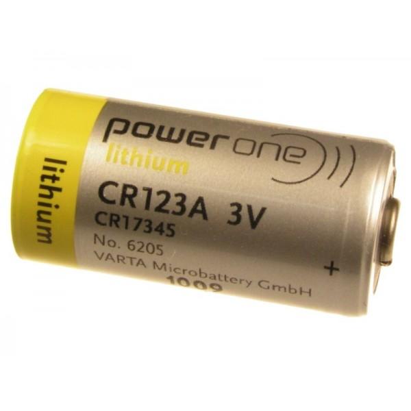 Baterii Varta Litiu CR123A 1500 mAh (CR17345) PowerONE