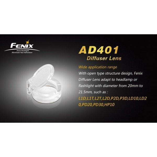 Lentila difuzor AD401