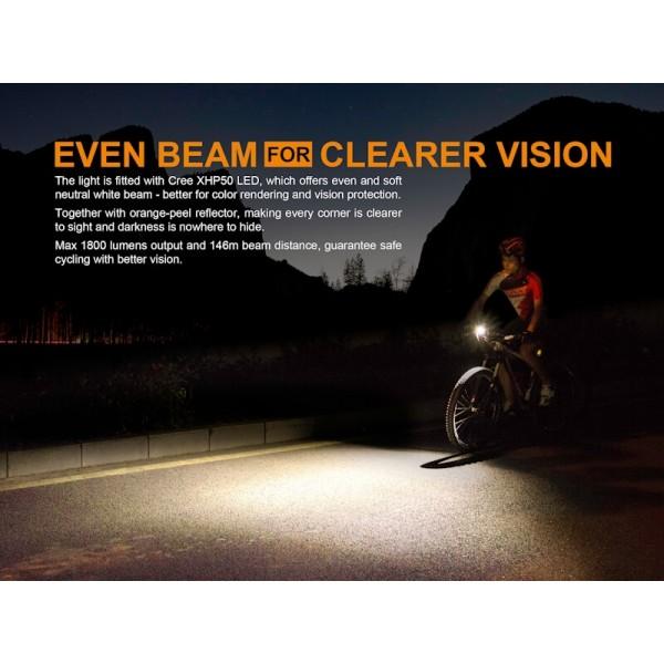 Fenix BC35R, Lanterna Bicicleta