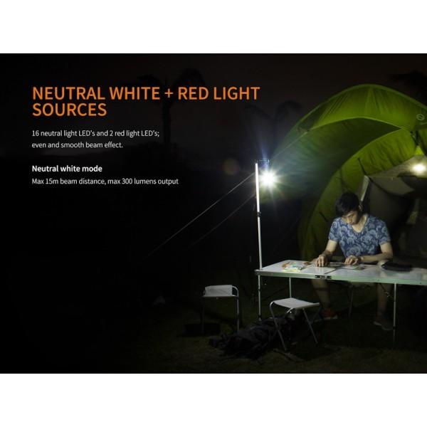 Fenix CL20R, Lanternă Camping
