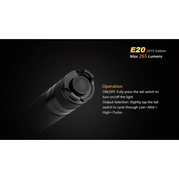 Fenix E20 - Editie 2015