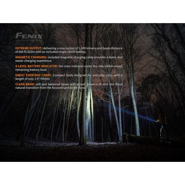 Fenix E30R, Lanterna Led