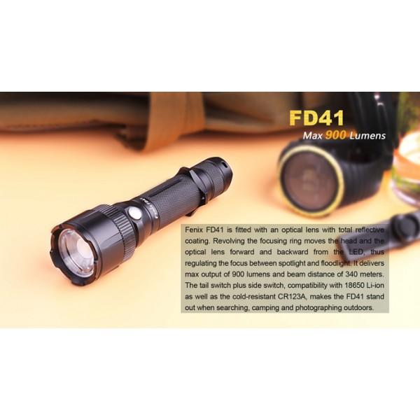 Fenix FD41 Lanterna LED cu focalizare #
