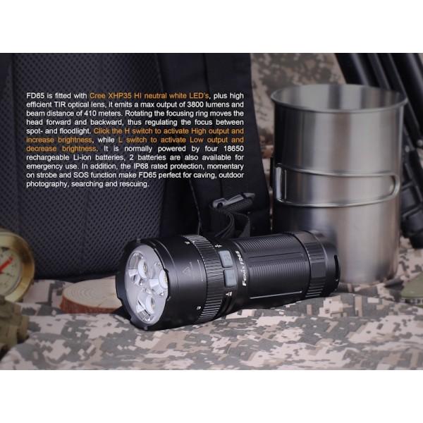Fenix FD65, Lanternă Led
