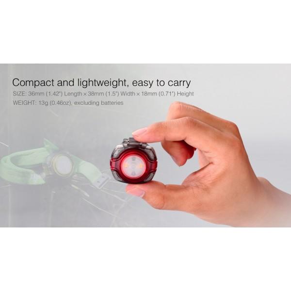 Fenix HL05 (Lanternă LED Frontală, Roșie)