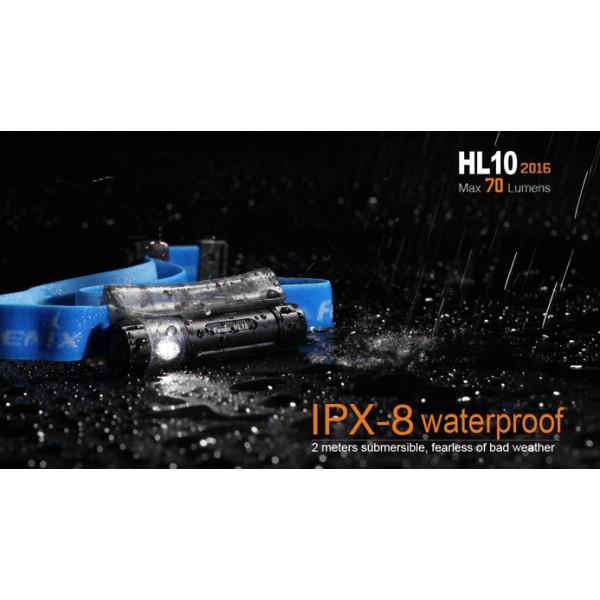 Fenix HL10 2016 Neagra (Frontala)