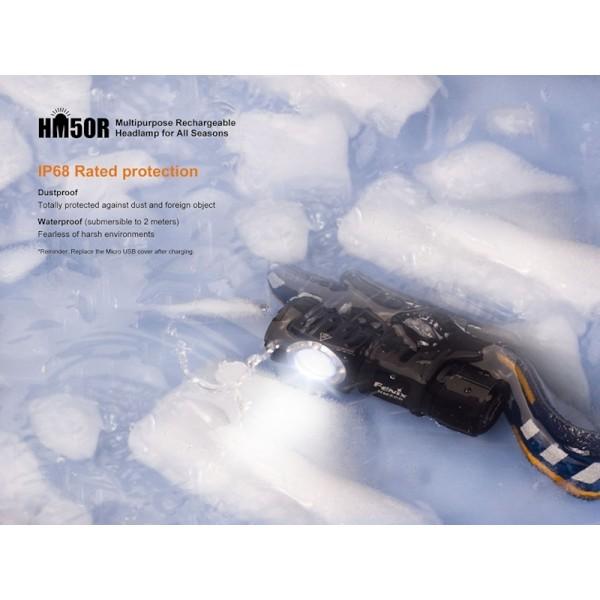 Fenix HM50R, Lanterna Frontală