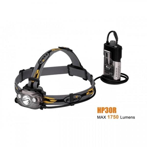 Fenix HP30R, Lanternă Frontală
