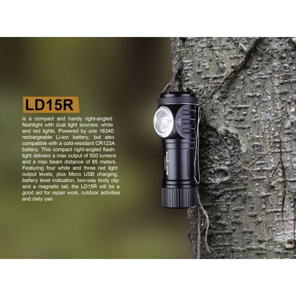 Fenix LD15R, Lanterna Led