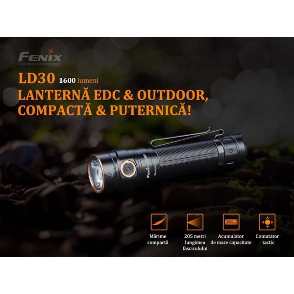 Fenix LD30, Lanterna Led