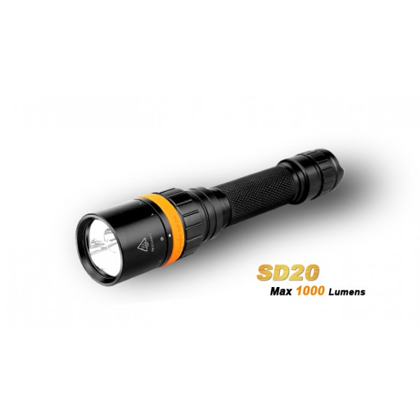 Fenix SD20  (Lanterna Pentru Scufundari)