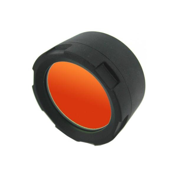 Filtru difuzor rosu FT 20-R Olight, compatibil cu lanterne LED Olight din seria T