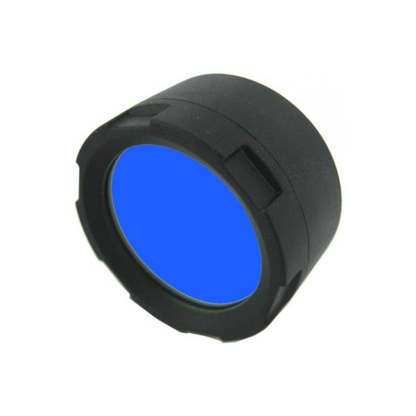 Filtru albastru FM21-B Olight, compatibil cu lanterne LED M21-X, S35, S65, S80