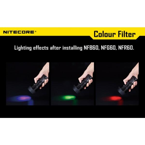 Filtru rosu Nitecore NFR60