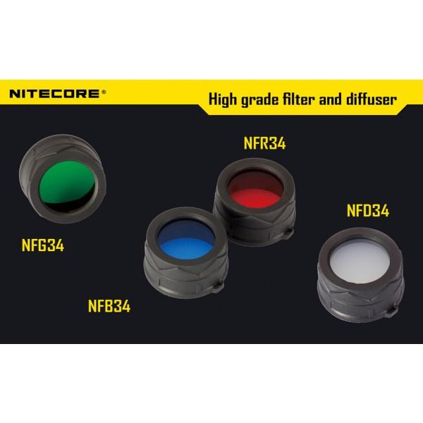 Filtru rosu Nitecore NFR34