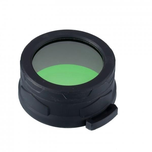 Kit Vanatoare, Nitecore P30 Versiune 2020, Lanternă Reîncărcabilă USB-C, 1000 Lumeni, 618 Metri, Prindere Magnetica, Intrerupator Fir, Filtru Verde