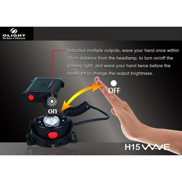 Lanterna frontala Olight H15 Wave