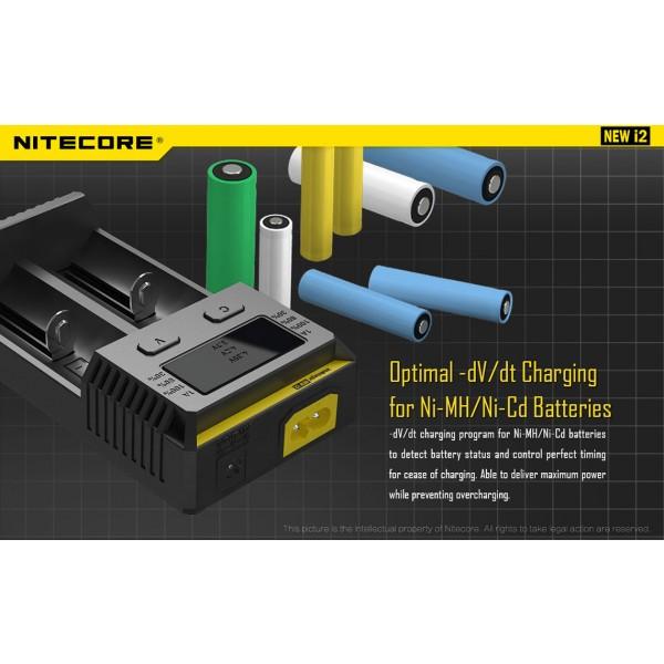 Incarcator Universal Nitecore i2 (Versiune 2016)