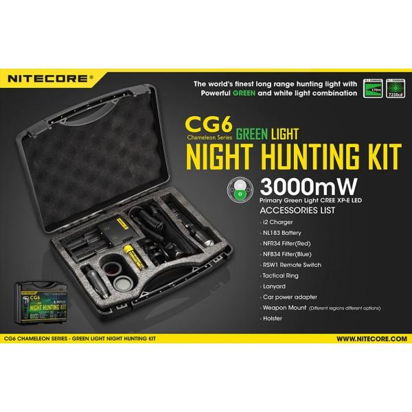 kit de vanatoare nitecore chameleon cg6