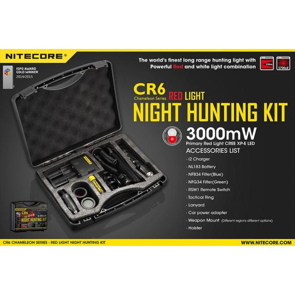 Kit de Vanatoare Nitecore CR6