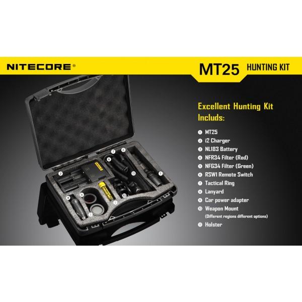 kit de vanatoare Nitecore MT25