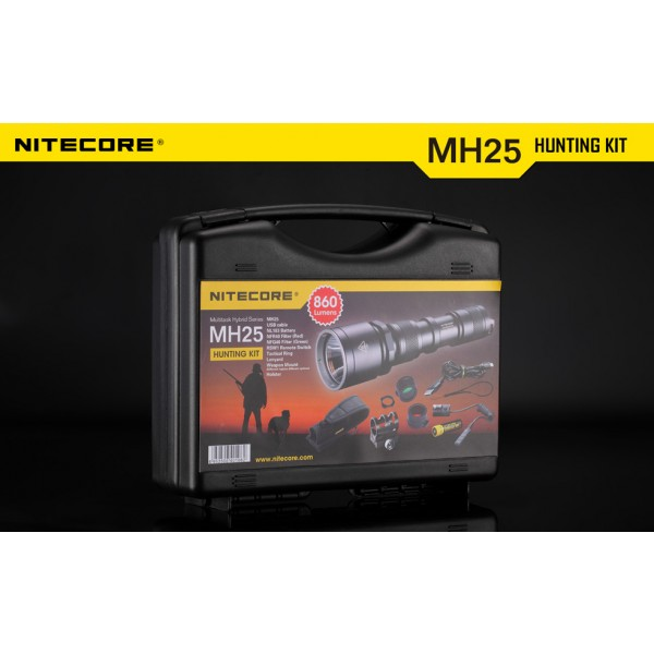 kit de vanatoare Nitecore MH25 II