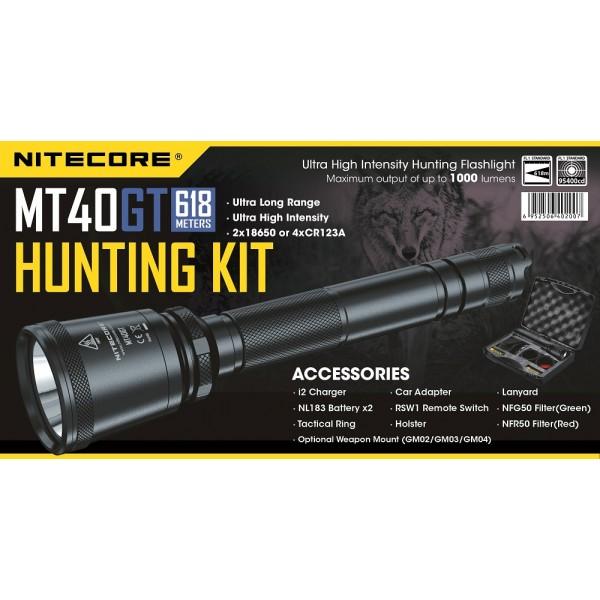 Kit de Vânătoare Nitecore MT40GT