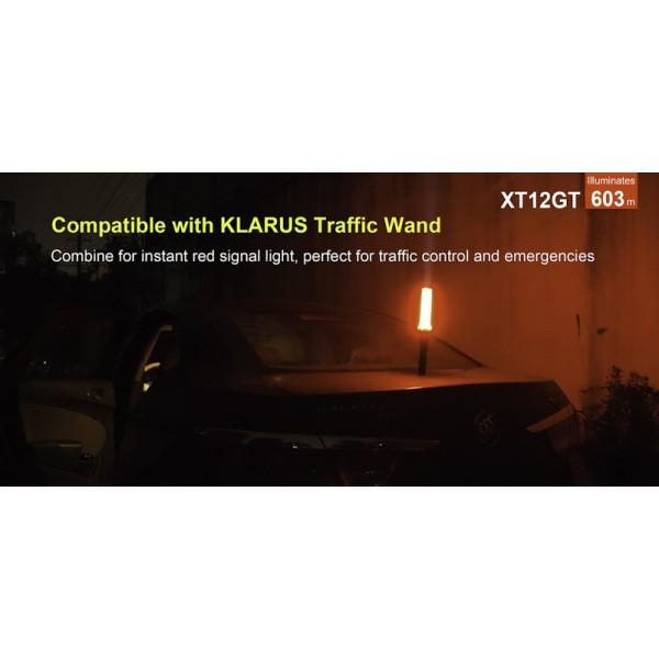 Klarus XT12GT, Lanterna Reincarcabila