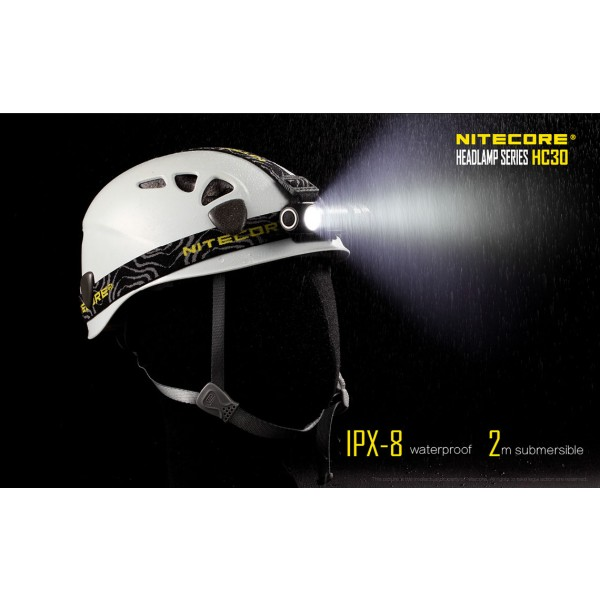 Lanternă Frontală Nitecore HC30W - Lumina Neutra