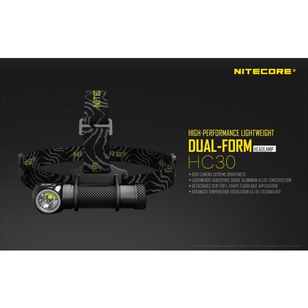 Lanternă Frontală Nitecore HC30