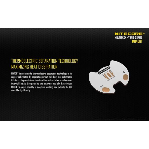 Lanterna reîncărcabilă Nitecore MH40GT