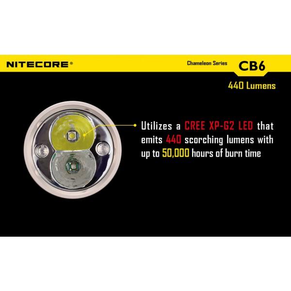 lanterna LED profesionala nitecore chameleon CB6