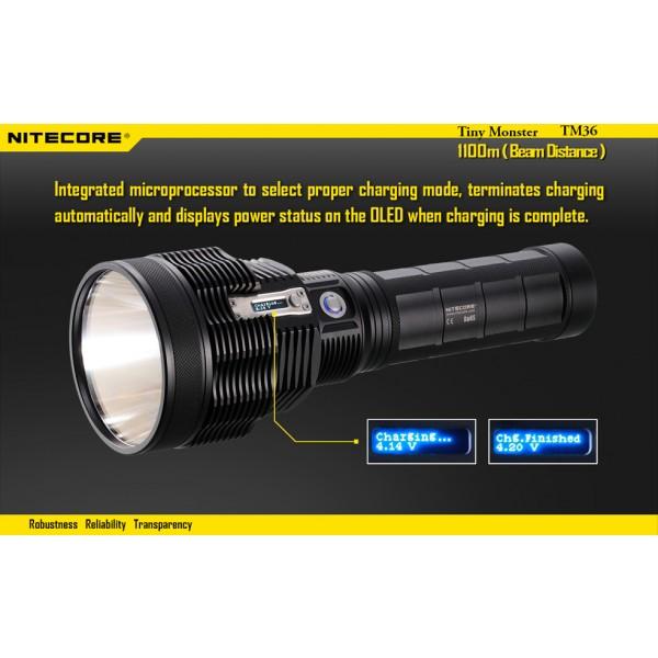 Lanterna LED reincarcabila Nitecore TM36