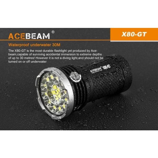 Lanterna Acebeam X80-GT - www.easylight.ro
