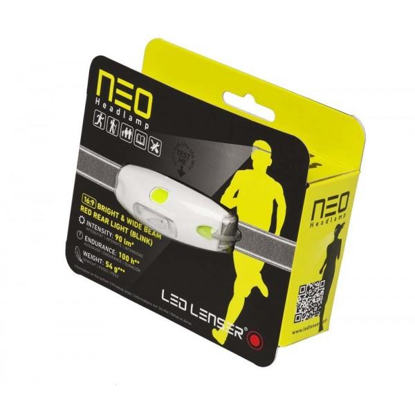 Led Lenser NEO galben (Frontală)