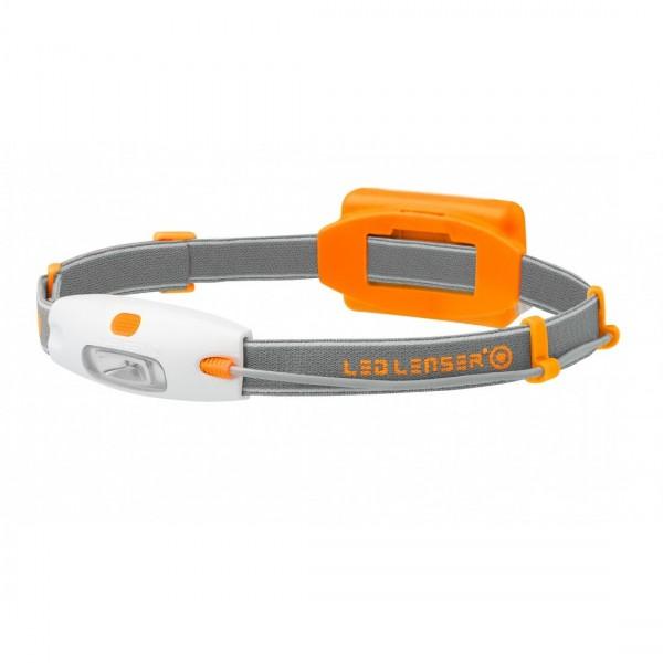 Lanterna frontala LED Lenser NEO portocaliu